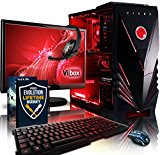 Vibox Sharp Shooter Package 7 Gaming PC - with Warthunder Game Bundle, Windows 10, 21.5