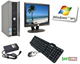 DELL Optiplex GX620 USFF All in One Dual Core PC Desktop Computer system + DELL 17