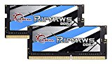 G.SKILL Ripjaws SO-DIMM 16 GB DDR4 2133 MHz C 15 1.2 V Laptop Memory Kit
