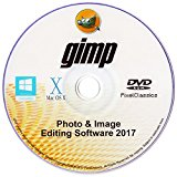 GIMP 2017 Photo Editor Professional Premium Image Editing for PC Windows 10 8 7 Vista XP & Mac OS X