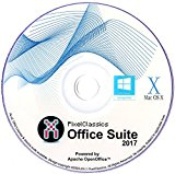 Office Suite 2017 Word & Excel 2010 2013 Compatible Software Power by Apache OpenOfficeTM - Full Program with Free Updates (PC/Mac/Linux)