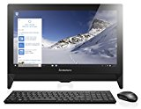 Lenovo C20 19.5 inch Full HD All-in-One Desktop (Intel Celeron N3050, 4 GB RAM, 500 GB HDD, Intel HD Graphics Card, Windows 10) - Black