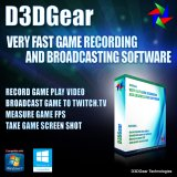 D3DGear Game Recording and Streaming Software [Download]