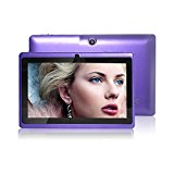 JYJ 7 Inch Android Google Tablet PC 4.2.2 8GB 512MB DDR3 A23 Dual Core Camera Capacitive Screen 1.5GHz WIFI Purple