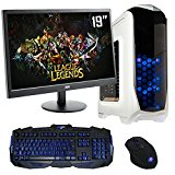 The PC Customiser Ultra Fast Gaming PC Bundle - AMD A6 6400K Dual Core @ 4.10GHz, HD8470D, Dual Channel 8GB DDR3 1600MHz RAM, 1TB Hard Drive, MSI A68HM Grenade, Kolink Aviator White Case, WiFi, 19