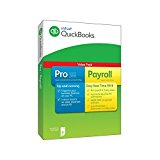 QuickBooks Pro 2016 Plus 1 Year Payroll subscription (PC)