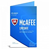 McAfee® LiveSafe 2017 - Unlimited Devices - 1 Year Subscription - compatible with Windows, Android, Mac OS X and iOS [Windows: Windows 7, Windows 8, Windows 8.1 and Windows 10. Android: 4.1 or later. OS X: 10.10 or later. iOS: iOS 9 or later]