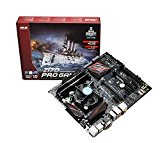 ADMI COMPONENT UPGRADE BUNDLE: Intel i3 6300 3.7GHz CPU Processor / Asus Z170 Pro Gaming DDR4 Motherboard / No RAM - Incredible value desktop PC upgrade solution ideal for multimedia and gaming PC's and general purpose desktop computers.