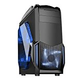 Fierce Medusa Spectre Fast Powerful Intel Core i7 4790 4GHz Quad Core Gaming Gamer Desktop PC Computer (Nvidia GTX 1050 Ti 4GB Graphics Card, 16GB RAM, 1TB Hard Drive (Sandstorm Blue - 191414)
