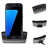 Samsung Galaxy S7 Charger Dock Holder, Oenbopo Desktop Sync OTG Charging Charger Dock Station Stand Cradle for Samsung Galaxy S7 G9300(S7)