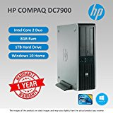 HP DC7900 Core 2 Duo 2.66GHZ - 3.0GHZ 8GB RAM 1TB HDD DVD WIN 10 Home 64Bit sold and warranted by Easy buy (CRS-UK) Registered Trade Mark No.UK00003100631