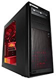 CYBERPOWER Ultra Gaming PC 200 - Gaming PC - AMD A8 7650K 3.7Ghz Quad Core Gaming PC Desktop Computer, HDMI, 8GB DDR3 1600mhz Performance Ram Onboard, AMD Radeon HD 8570D graphics, 2TB HDD, 240GB SSD, 24x DVDRW, NZXT Source 220 Black Gaming Case, Cooler Master Devastator Gaming Keyboard and Mouse included