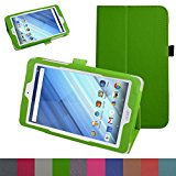 Acer Iconia One 8 B1-850 Case,Mama Mouth PU Leather Folio 2-folding Stand Cover with Stylus Holder for 8