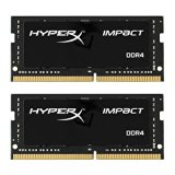 HyperX Impact HX424S14IBK2/32 Notebook Memory 32 GB Kit (2 x 16 GB) 2400 MHz DDR4 CL14 SODIMM, 1.2 V, 260-Pin