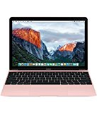 Apple MacBook 12-inch Laptop (Intel Core m3 1.1 GHz, 8 GB RAM, 256 GB SSD, Intel HD Graphics 515, OS X El Capitan) - Rose Gold - 2016
