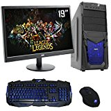 The PC Customiser Ultra Fast Gaming PC Bundle - AMD A6 6400K Dual Core @ 4.10GHz, HD8470D, Dual Channel 8GB DDR3 1600MHz RAM, 1TB Hard Drive, MSI A68HM Grenade, CiT Venom Blue Case, WiFi, 19