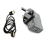 Buyersbargin® UK Wall Charger and USB Data Cable Samsung Android Tablet Galaxy Note 10.1 N8000, N8010, 8013, Tab 2 P3100/ P3110, P5100 / P5110, Tab 7.7 P6800 / P6810, Tab 8.9, Tab 7.0