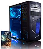 Vibox Ultra 11A Gaming PC - with Warthunder Game Bundle (3.1GHz AMD A8 Quad Core Processor, Radeon R7 Graphics Chip, 1TB Hard Drive, 8GB RAM, AvP Mamba Blue LED Case, No Operating System)