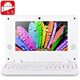 NEW 2016 7 inch 789 PC MID Android 5.0 Notebook WM8880 Dual Core 1.5GHz WVGA Screen 4GB ROM Camera WiFi Ethernet HDMI - White