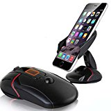 Universal 360° Mouse Shape Car Windshield Dashboard Cell Phone GPS Mount Holder Stand Cradle and Desktop Phone Holder