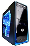 Cyberpower Gaming Blaster 1050 - Gaming PC (Nvidia GTX 1050 2GB, AMD FX4300 Quad Core CPU, 500W PSU, 8GB RAM, 2TB HDD, 480GB SSD, Win 10, +WIFI, Elite 310)
