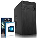 VIBOX Gaming PC - Vision 18 - 3.9GHz AMD A4 Dual Core APU, R5 230 GPU, Budget, Low-Cost, Multimedia, Home & Office, Desktop Computer with Game Bundle, Windows 10 OS and Lifetime Warranty* (3.7GHz (3.9GHz Turbo) Super Fast AMD A4-6300 Dual 2-Core APU/CPU Processor, AMD Radeon R5 230 1GB Dedicated Graphics Card GPU, 16GB DDR3 1600MHz High Speed RAM Memory, 3TB (3000GB) Sata III 7200rpm Hard Drive HDD, 85+ Rated PSU Power Supply, Steel Micro-ATX Case with Card Reader, FM2+ Motherboard, DVD-RW)